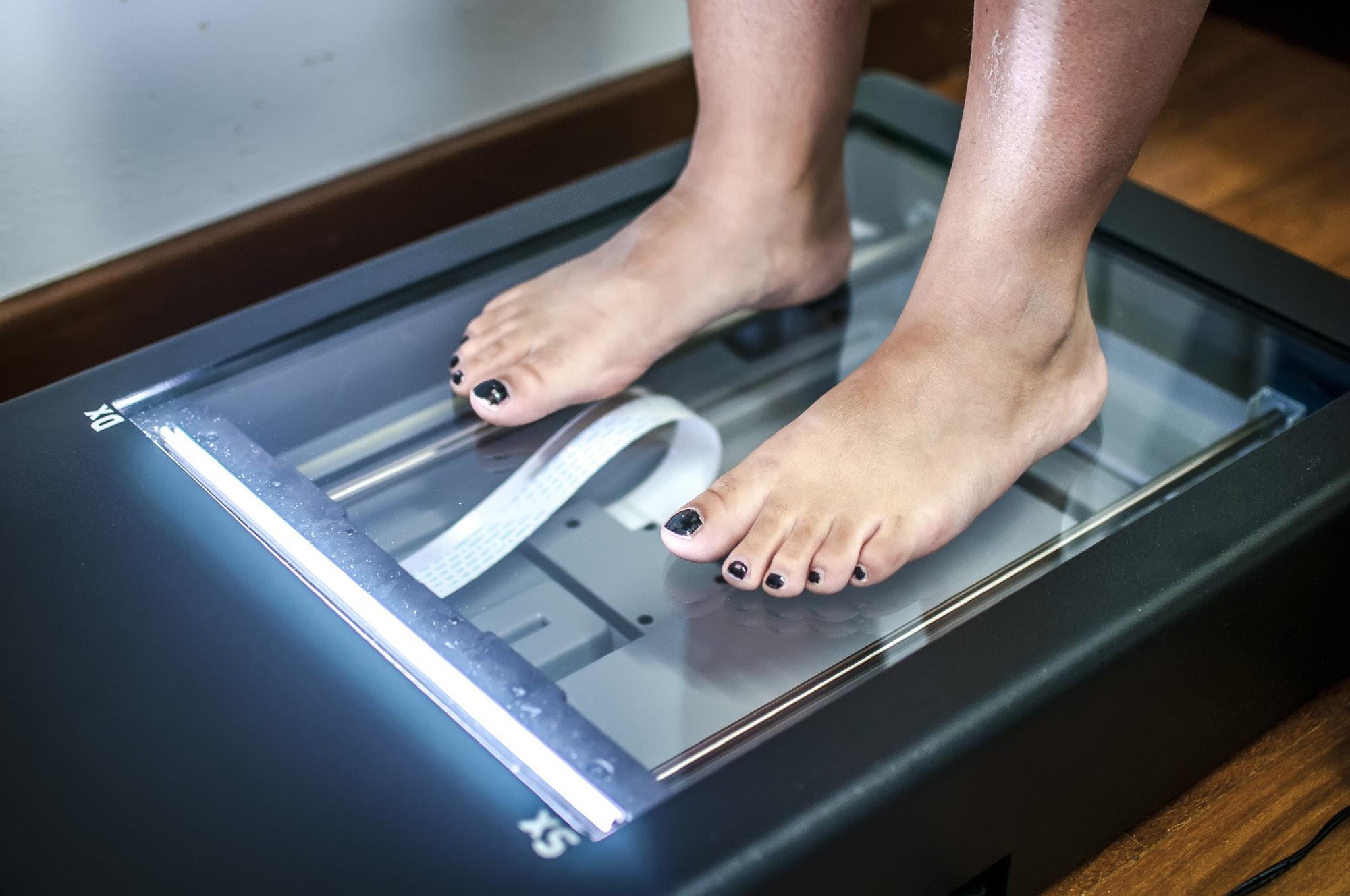 Feet scanning